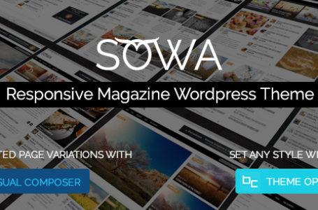 Sowa – Responsive Magazine WordPress Theme