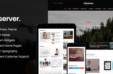 Daily Observer – Magazine, Review & News Portal